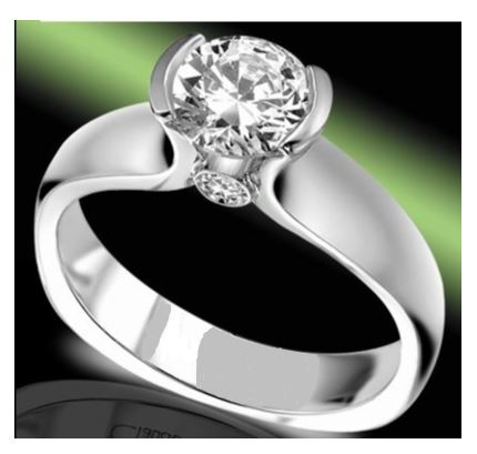 Engagement/Anniversary Ring by Claude Thibaudeau