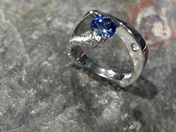 Engagement Ring by Claude Thibaudeau
