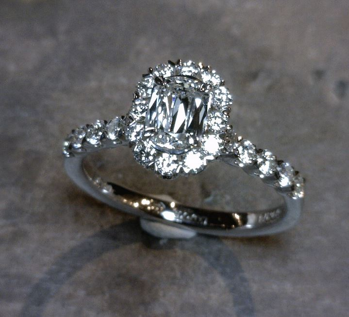 Engagement Ring by Christopher Designs