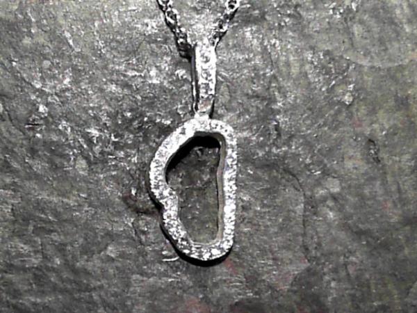 Medium lake tahoe frame pendant with czs mozeypictures Images