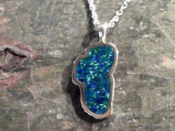 Extra Large Opal Lake Tahoe Pendant by Tahoe Designs